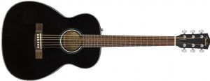 Fender CT-60S Classic Design Travel Acoustic Guitar Black